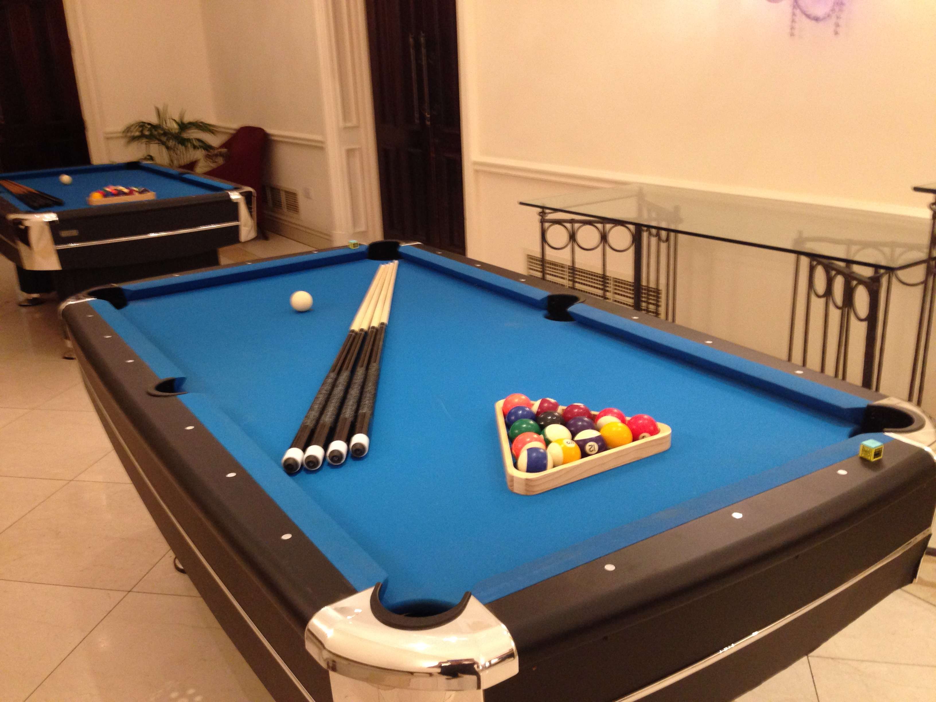 Pool Table Hire Pub Games Hire - How big is a full size pool table
